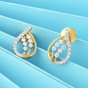 Teardrop Small Stud Earrings